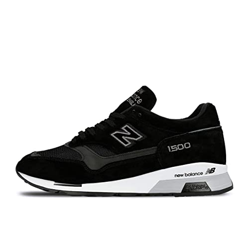 Amazon.com | New Balance Made in UK 1500 Shoe - Men's Casual Black ...