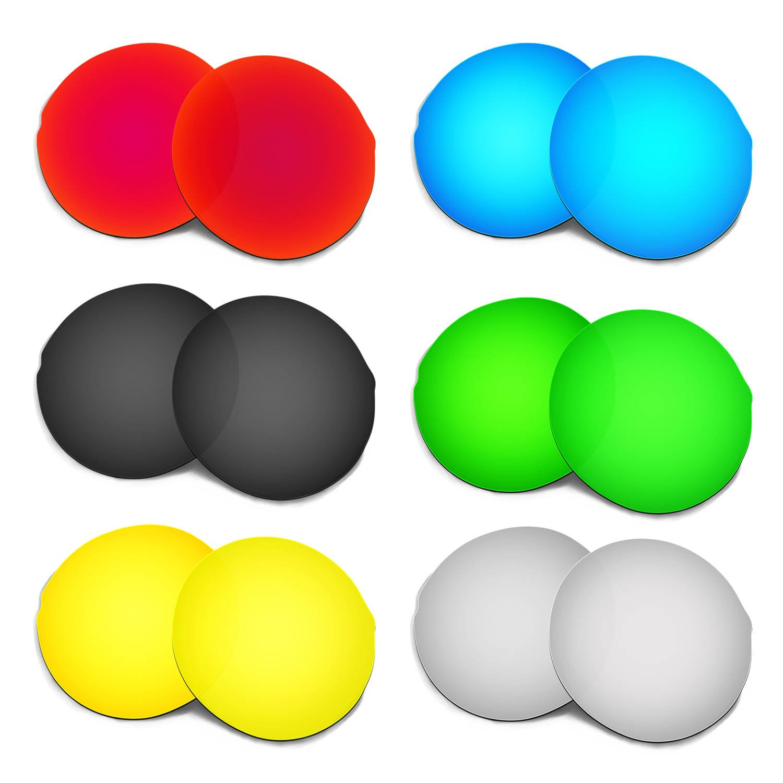 Hkuco 交換用レンズ Oakley Madman Sunglasses  レッド/ブルー/ブラック/ゴールデン/チタンカラー/グリーン B01MY158YR