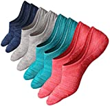 Mens No Show Socks Casual Low Cut Ankle Athletic Style Non Slip Ultimate Basic Boat Liner