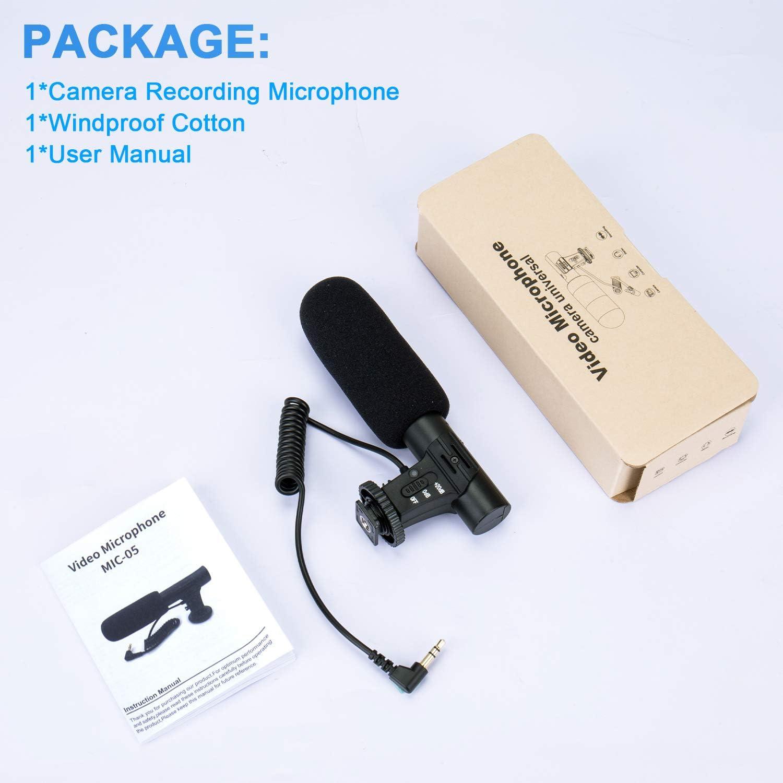 Kamera & Foto Camcorderzubehr TKOOFN Kamera Video Mikrofon MIC ...
