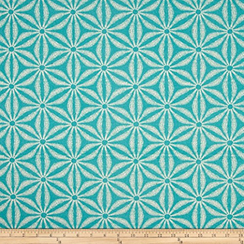 Tommy Bahama Indoor/Outdoor Star Batik Caribe Fabric by The Yard, Carribean (Outdoor Batik Pillows)