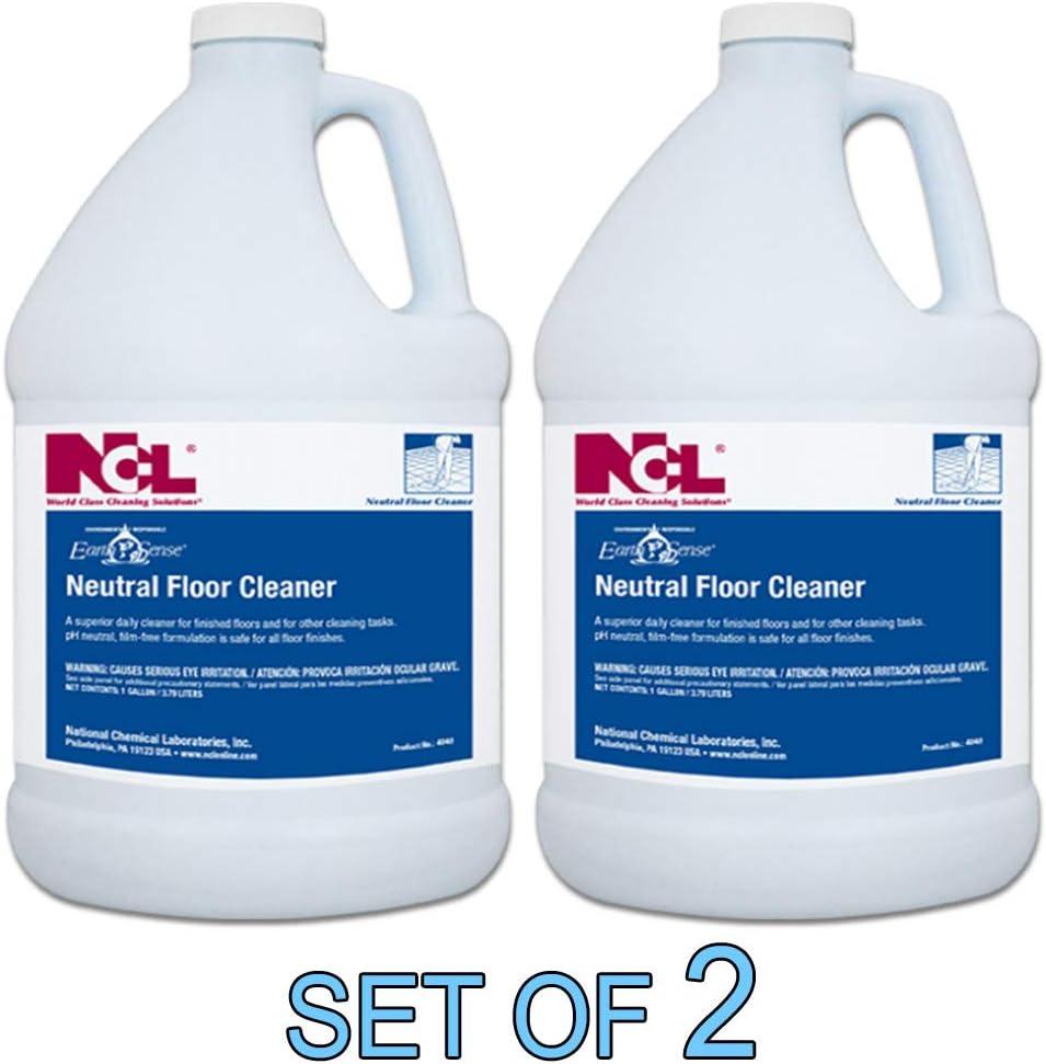 NCL Earth Sense Neutral Floor Cleaner 1 GAL [Set of 2]