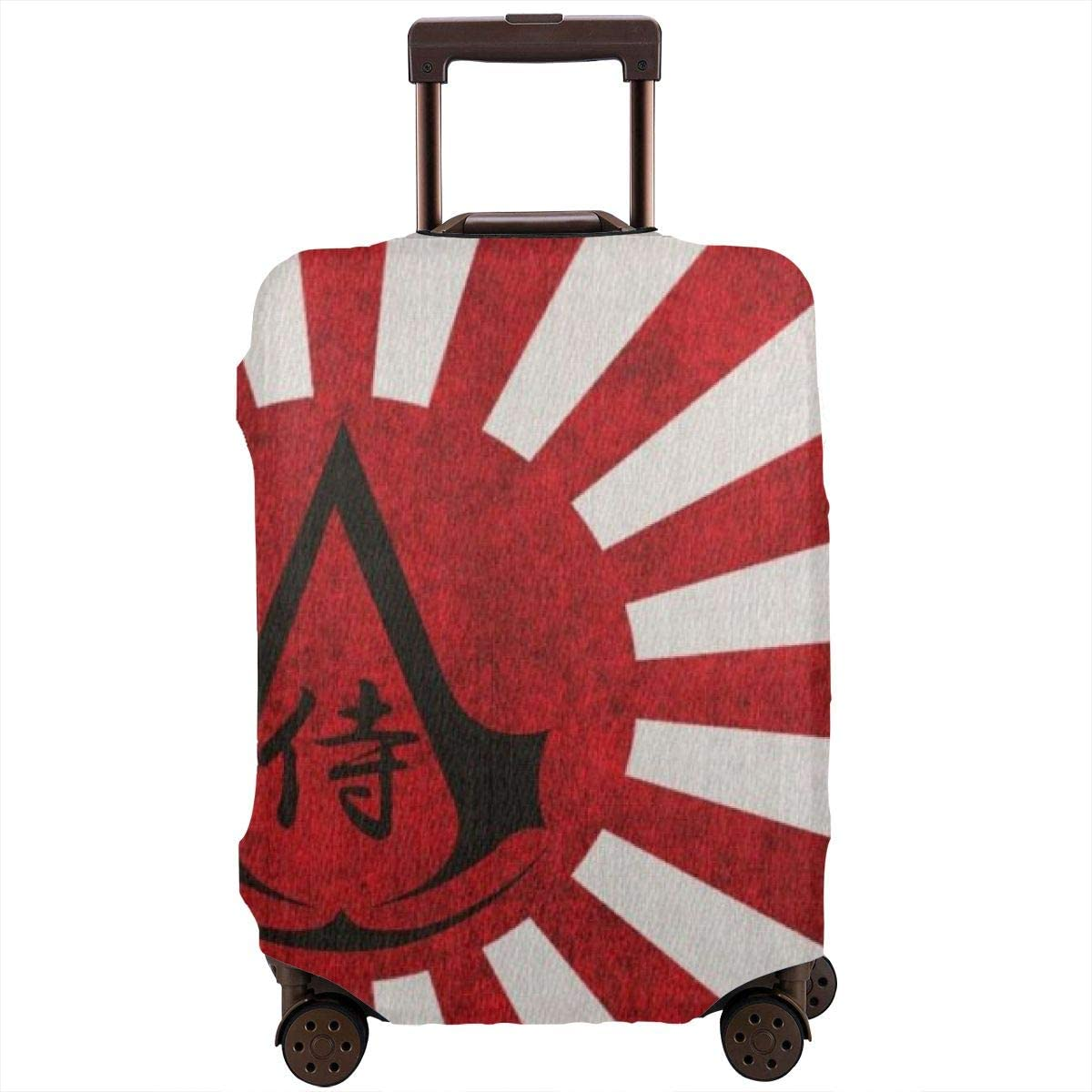 Japanese Assassins Creed Suitcase Protector Travel Luggage Cover Fit