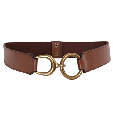 8fce7a55bf5 Ralph Lauren - Ceinture - Femme - Marron - S  Amazon.fr  Vêtements ...