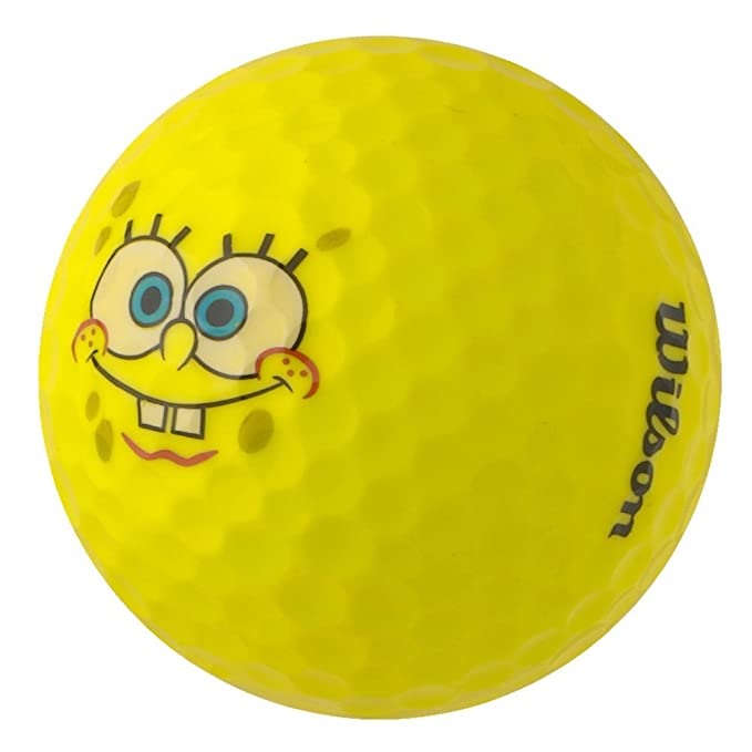 pearlgolf 50 Wilson Bob Esponja pelotas de golf amarillo – un ...