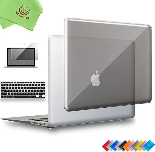 "13/"" Crystal Glossy See Cover Case For MacBook Air 11/"" A1370 A1465 A1369 A1466"
