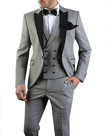 Amazon.com: loveetoo para hombre 3 piezas de formal para ...