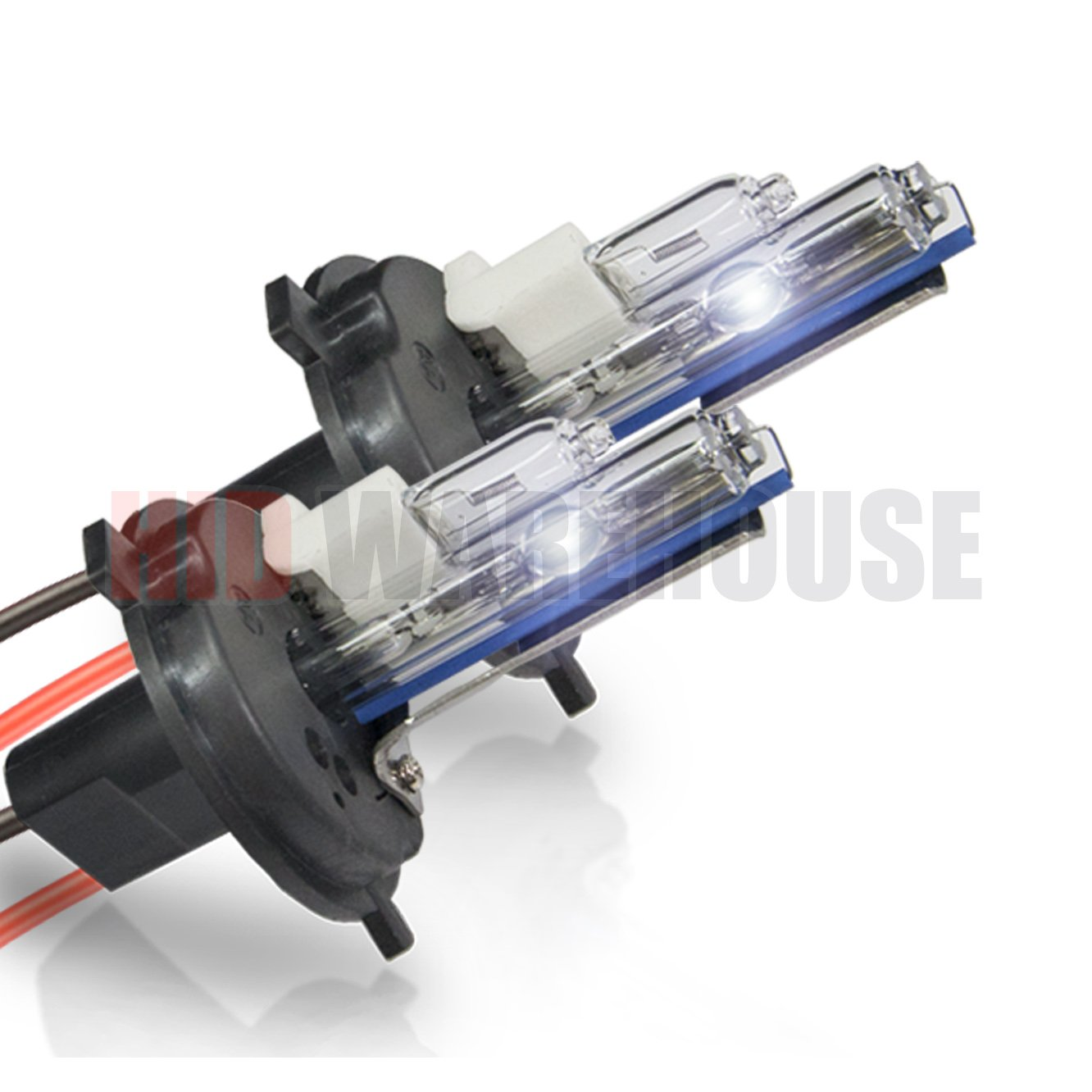 HID-Warehouse HID Xenon Replacement Bulbs - H4 / 9003 4300K - Bright Daylight (1 Pair) - 2 Year Warranty by HID-Warehouse