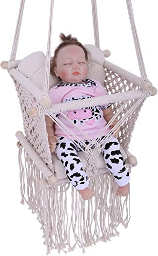 Mostbest Infant Hanging Rope Hammock Chair