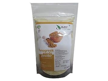 Mb Herbals Fenugreek Seeds Powder 227 Grams Half Pound Tr Nella Foenum Graesd