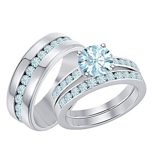 Amazon.com: RUDRAFASHION Juego de anillos para hombre y ...