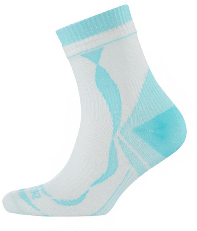 【期間限定お試し価格】 SealSkinz(シールスキンズ) 完全防水 ハイキングソックス(薄手) Large 女性用 Women's Thin Ankle Sock Ankle ホワイト 144/アクア 1121502 144 B014RMV6FE Large, 御菓子所 平安堂梅坪:cdda8214 --- martinemoeykens.com