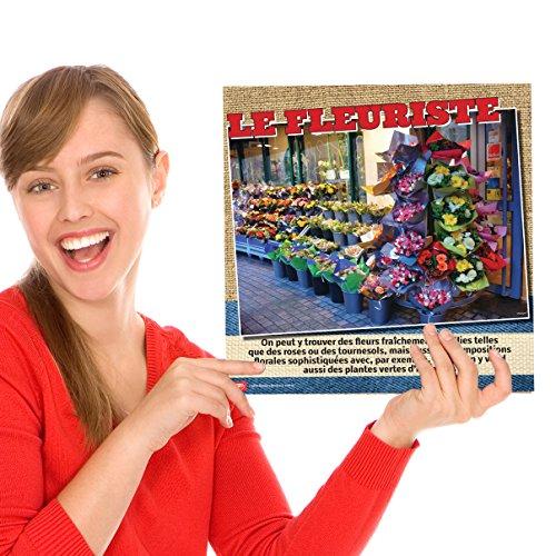 Les commerces de Paris Bulletin Board Set
