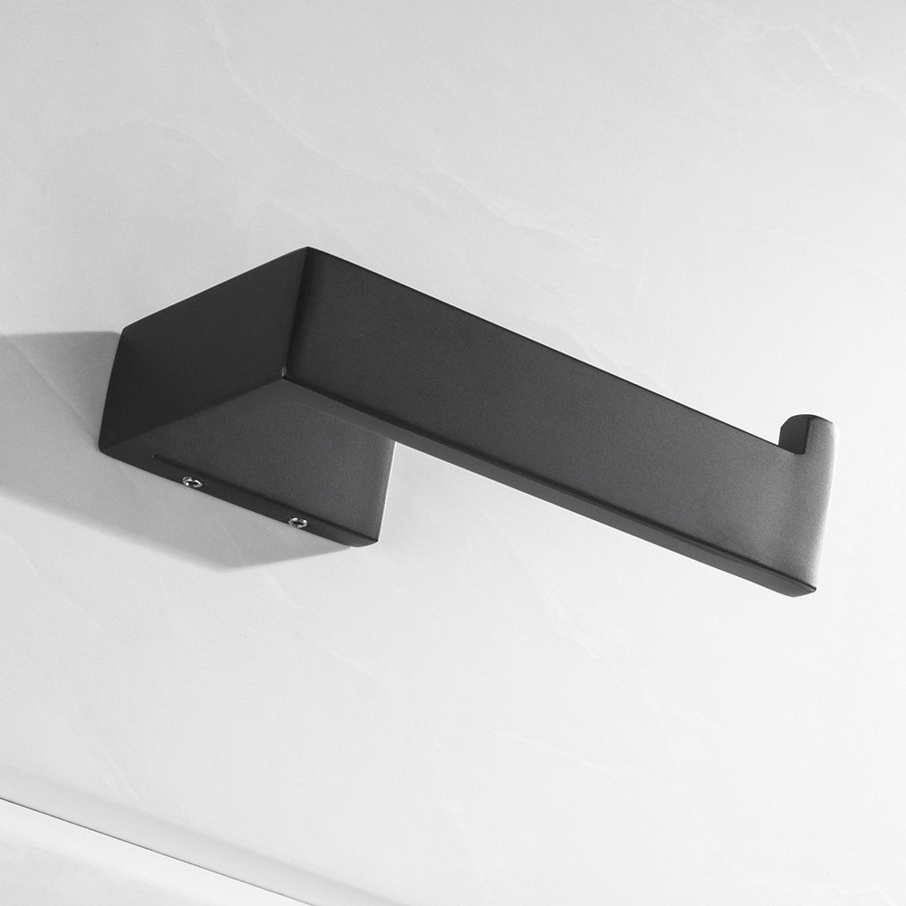 Lolypot Porte Rouleau Papier Toilette 304 Acier Inoxydable M/étal Chrom/é Miroir Poli supports de conception Porte-papier sans per/çage 3M Auto-adh/ésif D/érouleur Papier Accessoirs WC Distributeur Papier