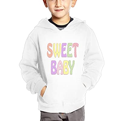 GLSEY Sweet Baby Pattern Children's Casual Hooded Pocket Hoodie