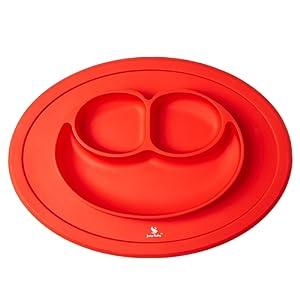 antidérapant plate, Set de table et bol en Jump bébé ® pour bébé LED Sevrage et amuse-bouches