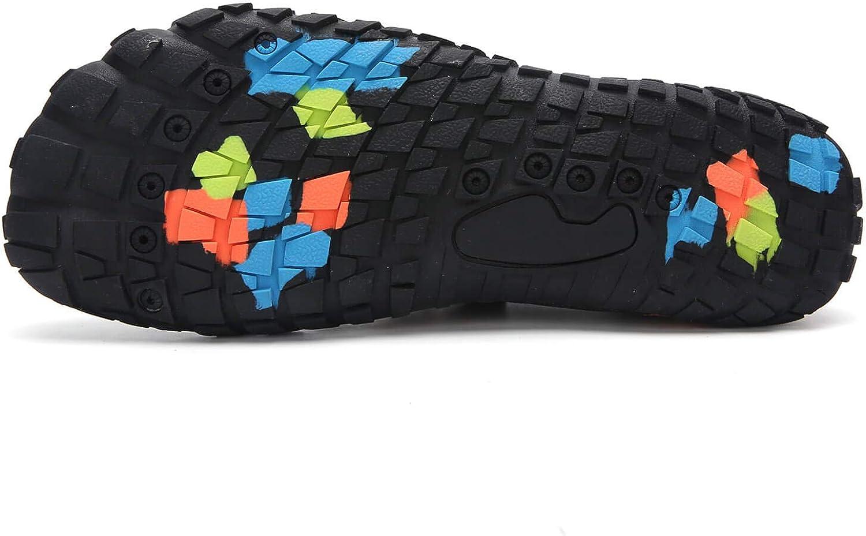 ziitop Chaussures Aquatiques Chaussures de Trail Running Homme Chaussures deau Femme Chaussures de Sport Aquatique Chaussons de Bain Pieds Nus pour