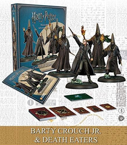 KNIGHT MODELS Tabletop - Miniature Game Resina - Barty Crouch Jr. Mortífagos (Spanish): Amazon.es: Juguetes y juegos