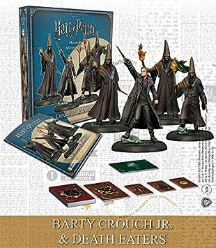Knight Models Juego de Mesa - Miniaturas Resina Harry Potter Muñecos Jr Adventure Game: Barty Crouch Jr & Death Eaters Expansion, Mixed Colours Version inglesa: Amazon.es: Juguetes y juegos