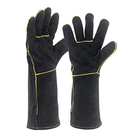 Soundwinds Leather Welding Gloves Fire Resistant Gloves Long Sleeve