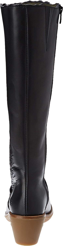 El Naturalista Aqua, Bottes Hautes Femme Noir Black Black