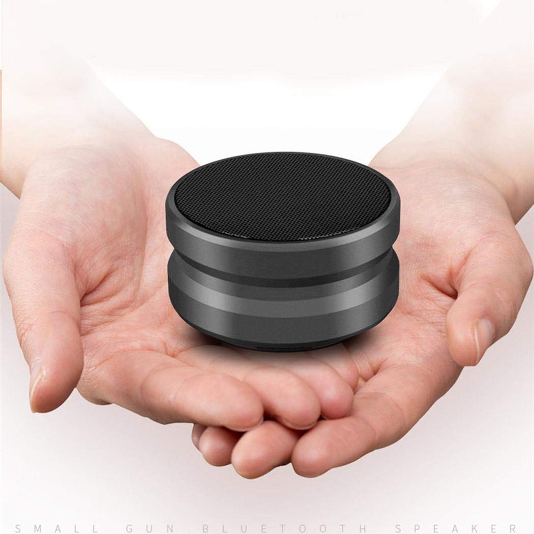 vobome Subwoofer inal/ámbrico Bluetooth con Mini Altavoz Bluetooth para m/úsica con micr/ófono Radios de Ducha