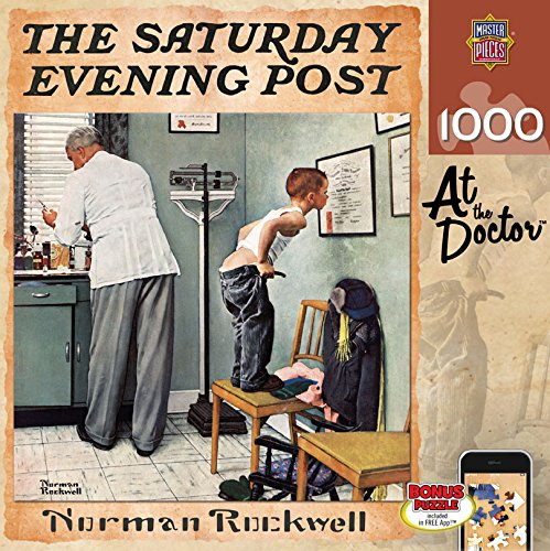 MasterPieces Saturday Evening Post At the Doctor -  1000 Piece Jigsaw Puzzle by Norman - Thousand Dr