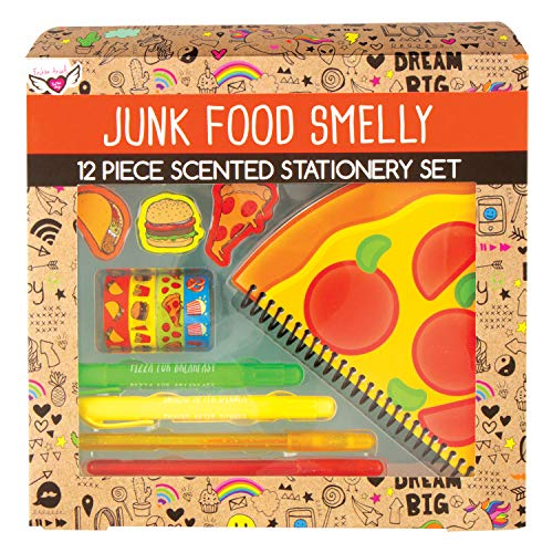 (Style.Lab 76440 Junk Food Super Smelly Stationery Set, Multi)
