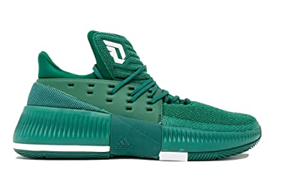 premium selection decae cefbc adidas Dame 3 NBA NCAA Shoe - Men s Basketball 13 Collegiate Green White