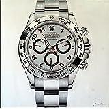 Kunst & Ambiente Rolex Daytona–Cuadro exclusivo de impresión digital de acrílico sobre lienzo de Martin Klein, diseño reloj Rolex