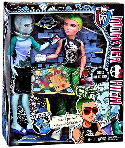 Monster High Mansters 2-pack Gil Webber and Deuce Gorgon for sale  Delivered anywhere in USA