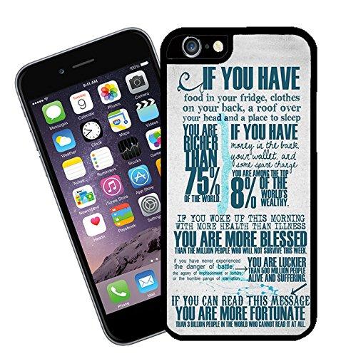 Zitate und inspirierende Worte 003 Telefon Etui - passen diese Abdeckung Apple Modell iPhone 6 (nicht 6 plus) - von Eclipse-Geschenk-Ideen