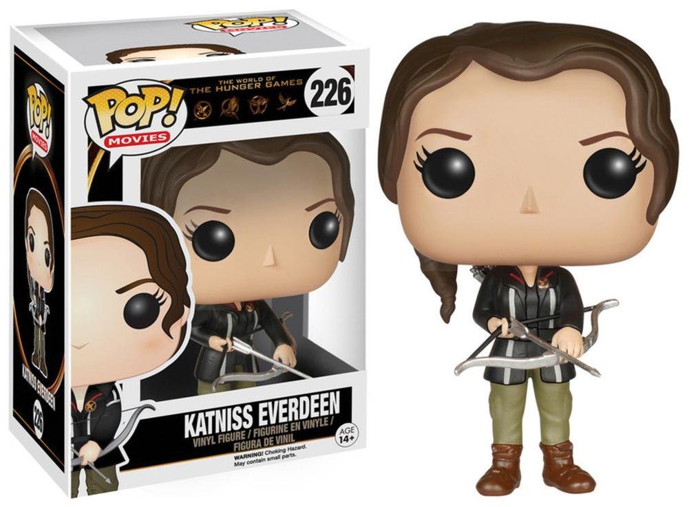The Hunger Games - Katniss Everdeen POP Figure Toy 2 x 4in