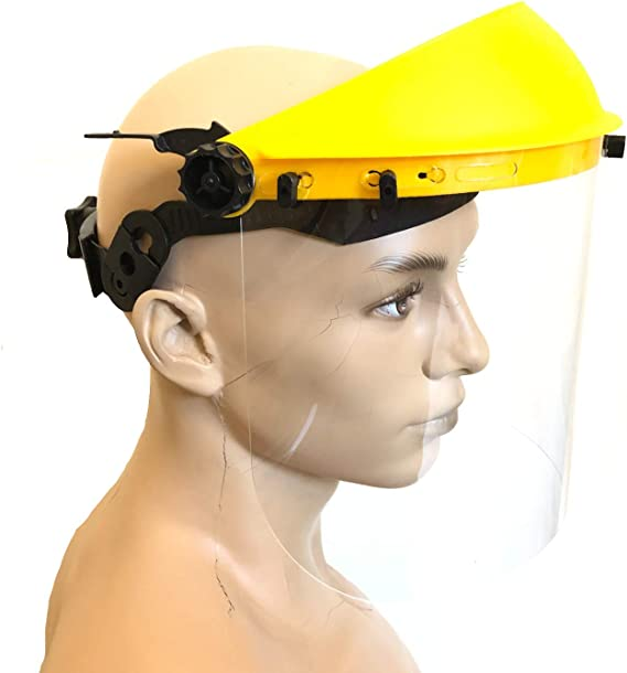 und Gesichtsschutz mit Klarsicht-Visier Geh/ör