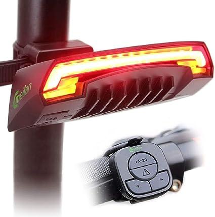Meilan X5 Bicycle Rear Light Bike Remote Wireless Turn Signal Cycling Tail Light