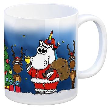 Honeycorns Kaffeebecher mit Einhorn Weihnachten Motiv - eine coole ...