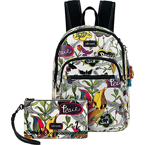 sakroots-artist-circle-mini-backpack-with-charging-wristlet-optic-peace-print
