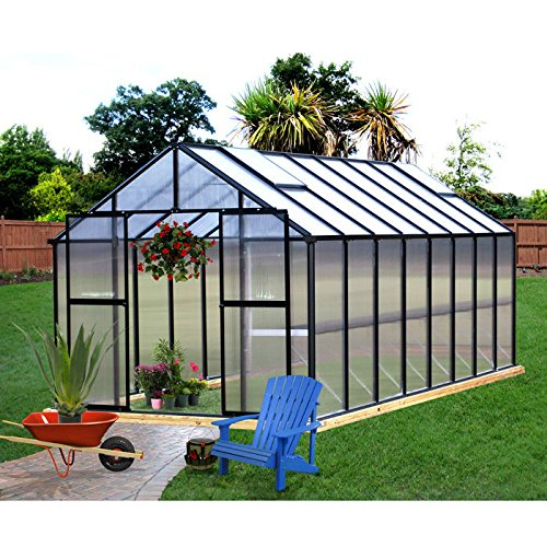 Monticello-Greenhouse-16FT-Black