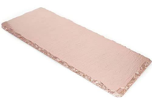 Amazon.com: Renee Redesigns Hand Painted Small Rose Gold Slate ...