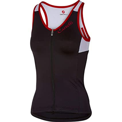 Amazon.com   Castelli 2017 Women s Solare Sleeveless Cycling Top ... d9b7021d5