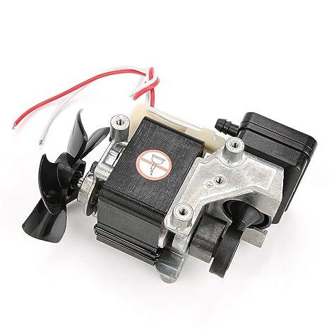 Bomba de vacío sin aceite - VN-20 Compresor de aire sin aceite Motor de vacío Bomba silenciadora incorporada 220V 60W: Amazon.es: Bricolaje y herramientas
