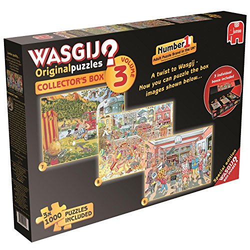 Wasgij Collector's Box - Volume 3, 3-in-1, 1000 Teile Puzzle