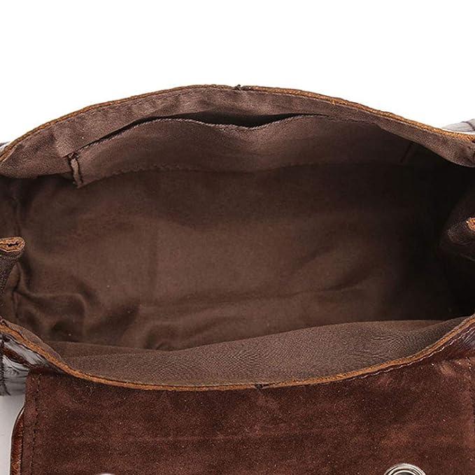 Amazon.com: Bolso bandolera de piel con relieve, diseño ...