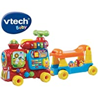 VTech Push & Ride Alphabet Train, Red