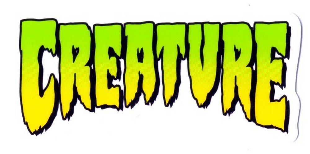 Creature Skateboards Sticker - Creature