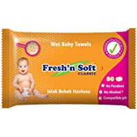 Fresh'n Soft Classic Islak Bebek Havlusu, 50 Yaprak