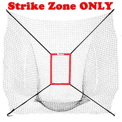LuxSports BASEBALL STRIKE ZONE for 7x7 Baseball Net by LuxSports