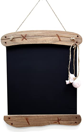 Driftwood lavagna da appendere effetto shabby chic 28 x 39cm ...
