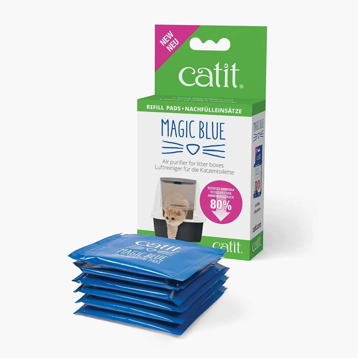 Catit Recambio Magic Blue, 6 Unidades: Amazon.es: Productos para mascotas