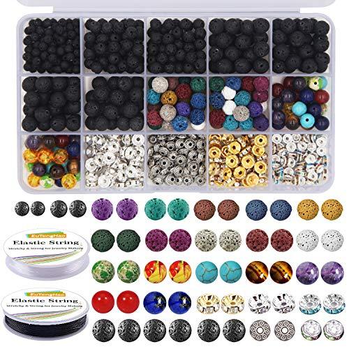 EuTengHao 602Pcs Lava Beads